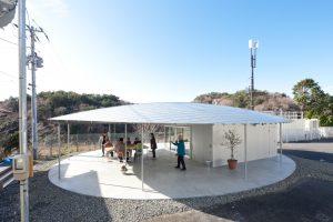 宮戸島のみんなの家 - 設計: 妹島和世 + 西沢立衛 / SANAA 施工: 櫻井工務店 菊川工業 こあ