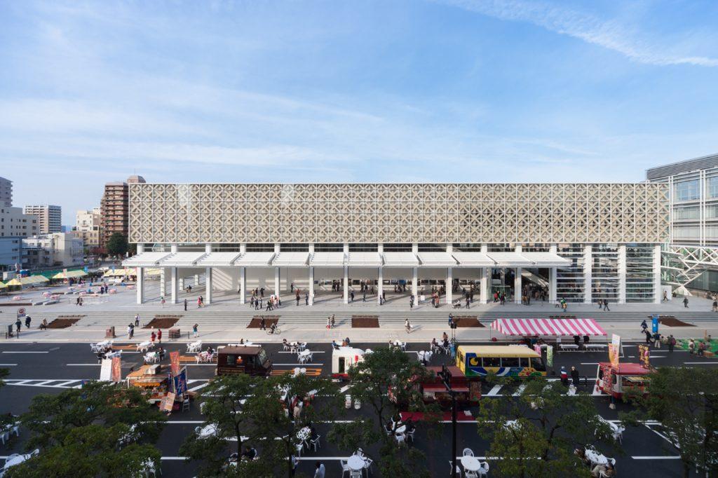 新建築 2015年7月号 大分県立美術館(OPAM)