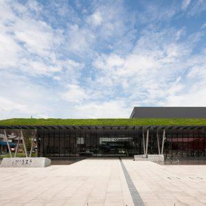 ヤンマーミュージアム - 設計: 近宮健一・東本光尚 / 日本設計 施工: 清水建設