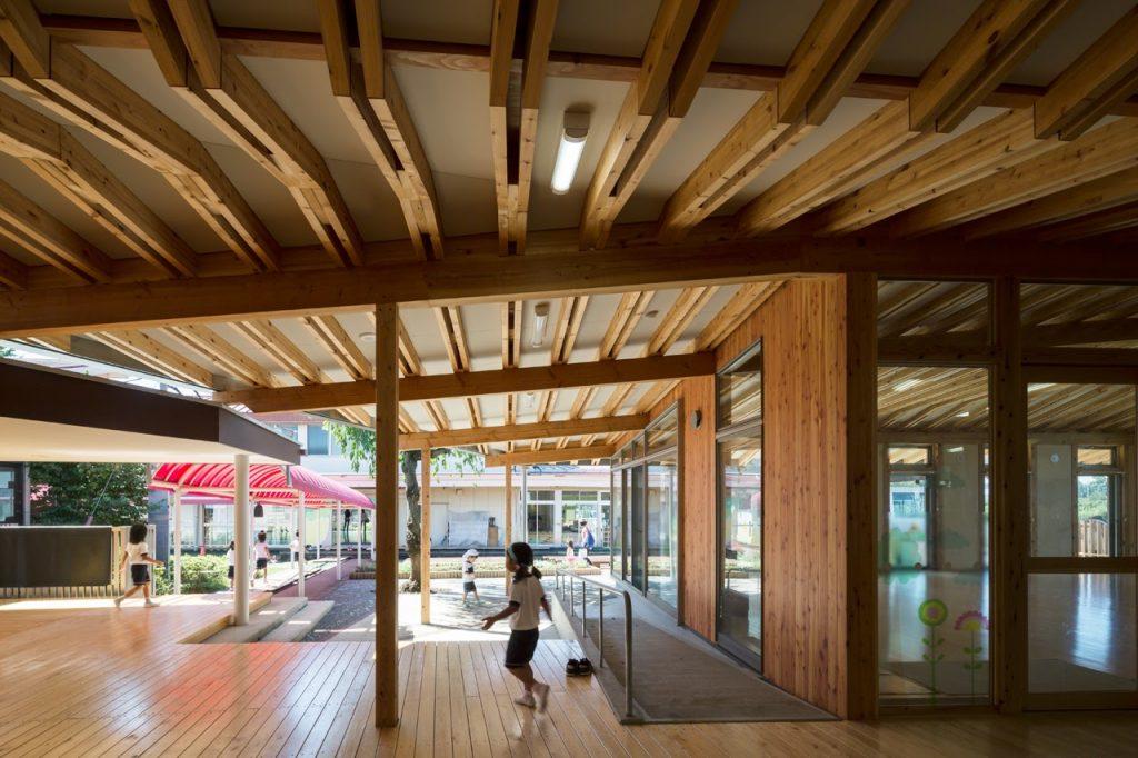 新建築 2016年5月号 森のおうち保育園 MORI NO OUCHI NURSERY SCHOOL