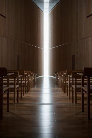 広尾の教会 21世紀キリスト教会広尾教会堂 - 設計: 安藤忠雄建築研究所 施工: 鹿島建設