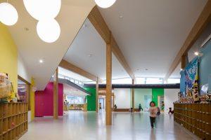 かまいしこども園 - 設計: 平田晃久建築設計事務所 施工: 大和ハウス工業