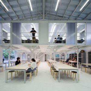 九州工業大学製図室