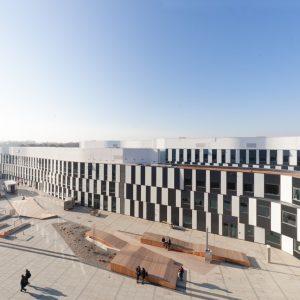 ウィーン経済経営大学 - 設計: マスタープラン, Plot01 バスアルヒテクトゥール