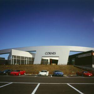 コーンズ大阪サービスセンター - 設計: 丹下都市建築設計 施工: 安藤建設