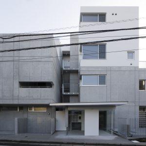 浜田山のコーポラティブハウス - 設計: インターデザインアソシエイツ 松本剛建築研究室 施工: 松尾工務店