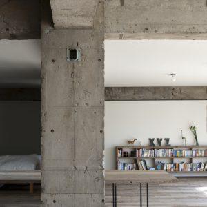 Sakura flat - 設計: 若松均建築設計事務所 施工: 和田建築