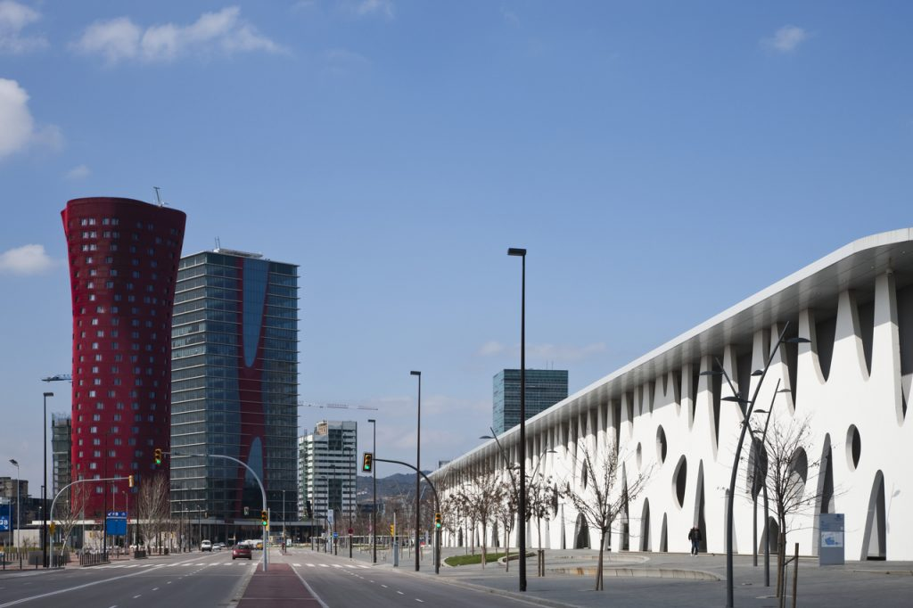 新建築 2010年4月号 バルセロナ見本市 グランビア会場 拡張計画