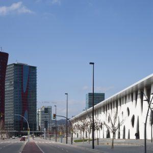 バルセロナ見本市グランビア会場拡張計画