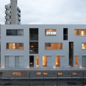 南品川集合住宅B - 設計: 川辺直哉建築設計事務所 施工: 三浦工務店
