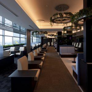 第2旅客ターミナル内 ANA SUITE LOUNGE / ANA LOUNGE - 施工: J. フロント建装 名鉄百貨店