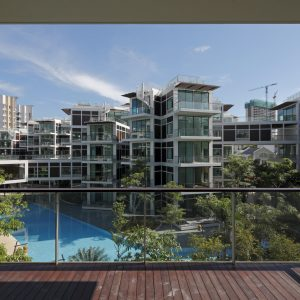 BELLE VUE RESIDENCES - 設計: 伊東豊雄建築設計事務所 施工: TIONG AIK CONSTRUCTION