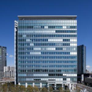 豊洲フロント - 設計: 三菱地所設計 施工: 鹿島建設