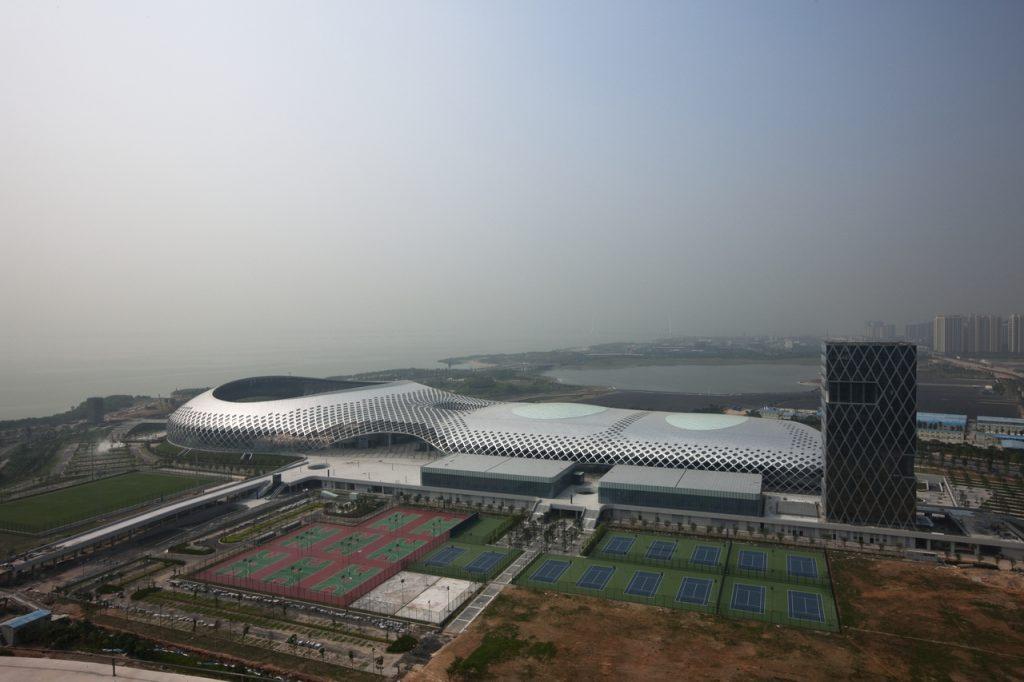 新建築 2011年7月号 深圳湾体育センター