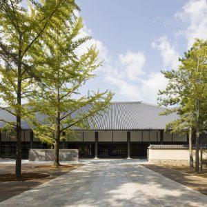 東大寺総合文化センター - 設計: 戸尾任宏・建築研究所アーキヴィジョン / LAN 施工: 大林組・三和建設・ゴセケン共同企業体