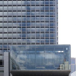 飯野ビルディング - 設計:施工 竹中工務店 設計:監修・工事監理 日建設計
