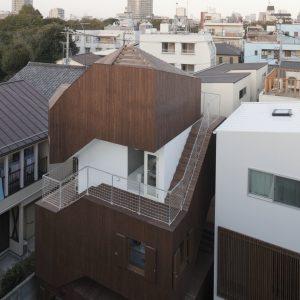 二重螺旋の家 - 設計: 大西麻貴 + 百田有希 / o + h 施工: 工藤工務店