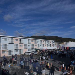 女川町仮設住宅 - 設計: ボランタリー・アーキテクツ・ネットワーク (VAN) 施工: TSP太陽