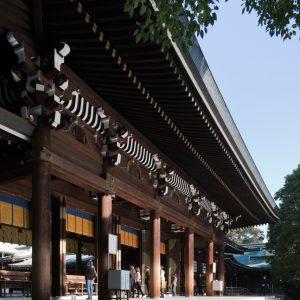 明治神宮外拝殿 耐震補強工事 - 設計: 木内修建築設計事務所 施工: 清水建設