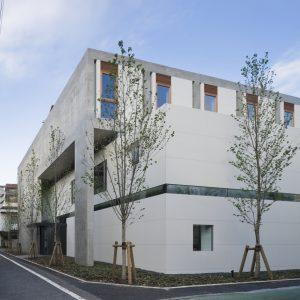 矢来町のアトリエ - 設計: 小川広次建築設計事務所 施工: 鹿島建設