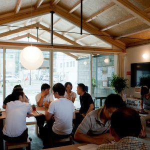 釜石市商店街「みんなの家・かだって」
