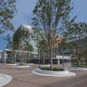 町田市新庁舎 - 設計: 槇総合計画事務所 施工: 鹿島建設