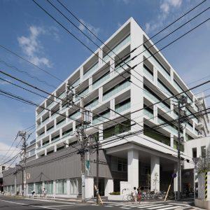 新松戸中央総合病院 - 設計: 伊藤喜三郎建築研究所 施工: 清水建設