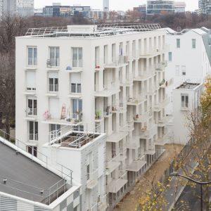 Logements Sociaux Rue Rebiére