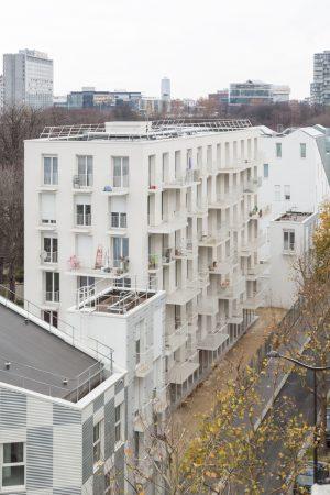 Logements Sociaux Rue Rebiére - 設計: アトリエ・ワン 設計:協力 Brunnquell & André Architectes 施工: Entreprise générale Léon Grosse