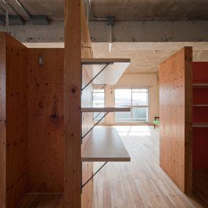 大阪市住宅供給公社 - 設計: 馬場正尊 + 大我さやか / Open A 施工: 関西住建