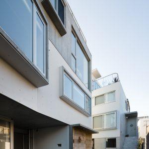 世田谷のコーポラティブハウス - 設計: 若松均建築設計事務所 施工: 辰