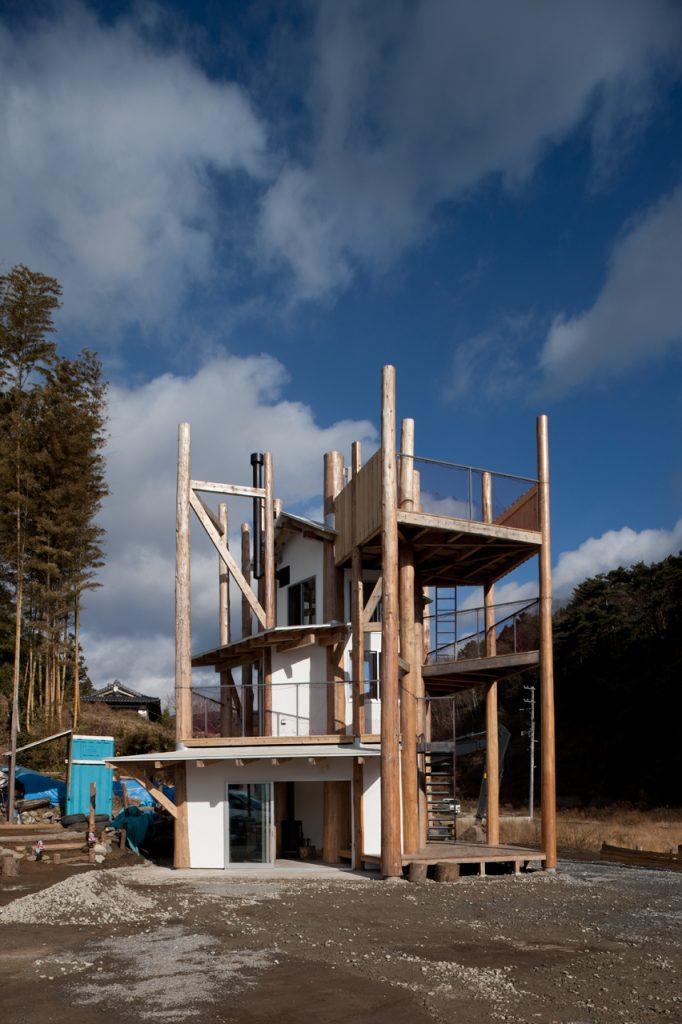 新建築 2013年3月号 陸前高田の「みんなの家」