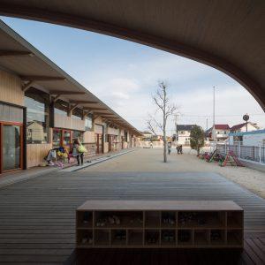 中河原保育園 - 設計: 古谷誠章 + NASCA 施工: 竹中組