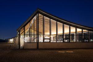 群馬県農業技術センター - 設計: SALHAUS 施工: 関東建設工業・中西工業・門倉電機 (本館)