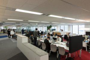 霞が関ライブオフィス[NEXT OFFICE] - 設計: コクヨファニチャー 施工: 三井デザインテック