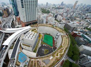 クロスエアタワー - 設計: 大成建設一級建築士事務所 施工: 大橋地区第二種市街地再開発事業1-1棟新築工事共同企業体