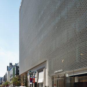 資生堂銀座ビル - 設計:施工 竹中工務店