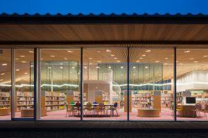 豊後高田市立図書館 - 設計: 益子一彦 / 三上建築事務所 施工: 都建設