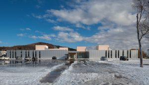 豊富町定住支援センター - 設計: アトリエブンク 施工: 石塚・藤・佐々木特定建設工事共同企業体