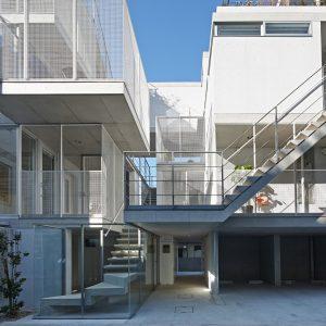 西麻布の集合住宅