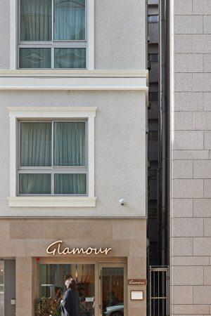 メゾン ド グラムール - 設計: 三井ホーム Ren GLAMOROUS (店舗内装) 施工: 三井ホーム 三井デザインテック (店舗内装)