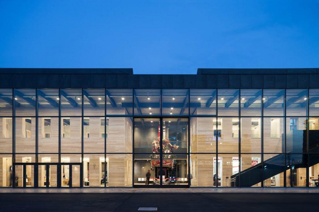 新建築 2014年5月号 上州富岡駅