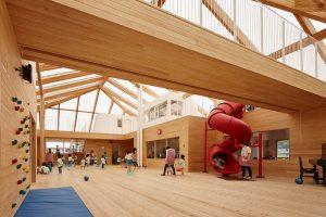 かなや幼稚園 - 設計: 石嶋設計室 + 小松豪一級建築士事務所 施工: 福浜大一建設