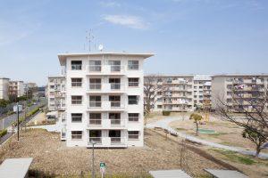 花畑団地27号棟プロジェクト - 設計: 都市再生機構東日本賃貸住宅本部 施工: 江州建設