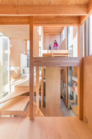団子坂の家 - 設計: 妹島和世建築設計事務所 施工: 工藤工務店