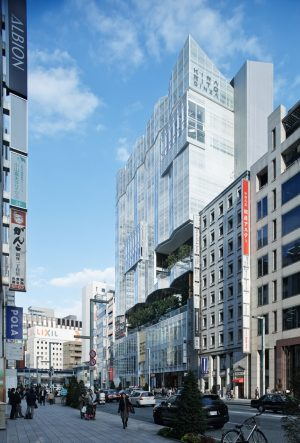 KIRARITO GINZA - 設計: 浅井謙建築研究所 施工: 鹿島建設