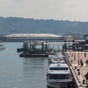 佐世保港国際ターミナル - 設計: NKSアーキテクツ 施工: とみたメンテ・大誠建設・丸昌産業共同企業体