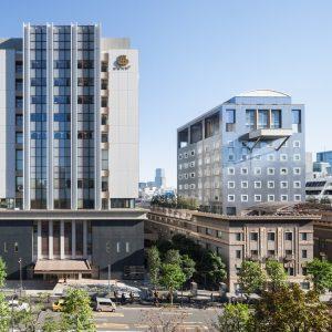 日本大学病院 - 設計: 伊藤喜三郎建築研究所 施工: 鹿島建設・鉄建建設共同企業体
