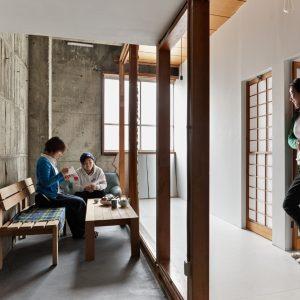 SHARED HOUSE 八十八夜 - 設計: 2. 0不動産 施工: 伊藤智寿・2. 0不動産