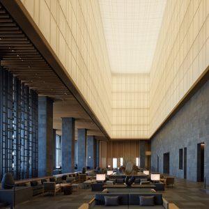 大手町タワーアマン東京 - 設計: 大成建設一級建築士事務所施工 大成建設